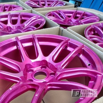 Powder Coated Rims In Hss-2345, Upb-6610 And Ppb-5729