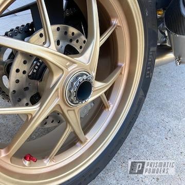 Powder Coated Ducati Wheels In Umb-1638