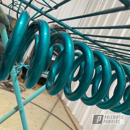 Powder Coating: Tundra,Lift Kit,NEW TEAL UPB-2858,Suspension