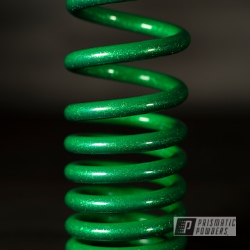 Powder Coated Wheel And Coil Spring In Ppb-10204 And Pss-7068
