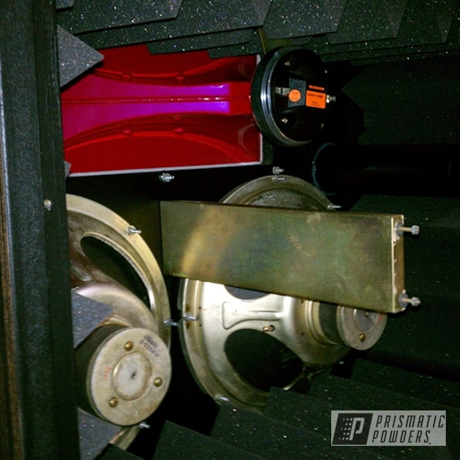 Powder Coating: Raspberry Red PMB-4119,Speaker,Speaker Horn,Miscellaneous