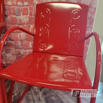Powder Coated Patio Chairs In Ral 3002