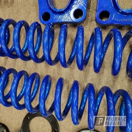 Powder Coating: Auto Parts,Automotive,Clear Vision PPS-2974,Illusion Blueberry PMB-6908,Automotive Parts