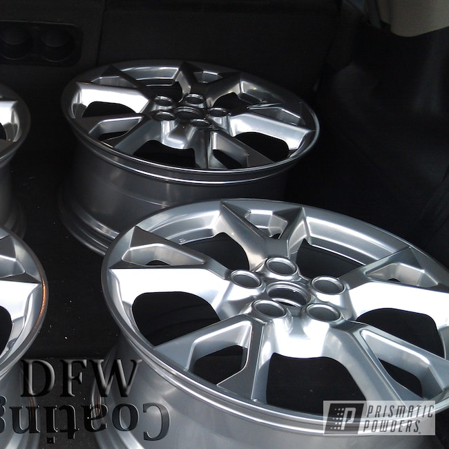 Powder Coating: Wheels,Automotive,Super Chrome USS-4482,Nissan Wheels