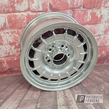 Powder Coated Rims In Pps-2974 And Ums-10671