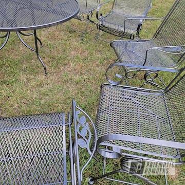 Powder Coated Lawn Furniture In Pmb-5027