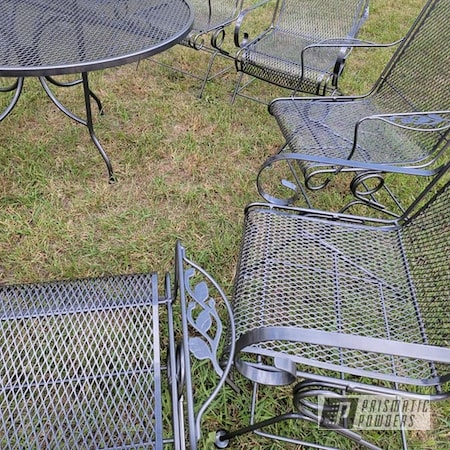 Powder Coating: Kingsport,Patio Furniture,Kingsport Grey PMB-5027,Outdoor Patio Furniture,lawn furniture