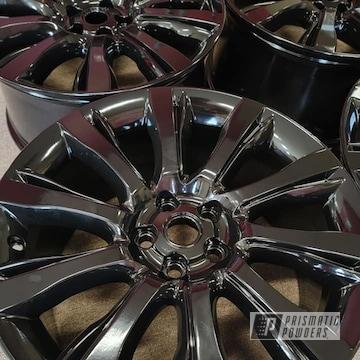 Powder Coated Wheels In Pss-0106