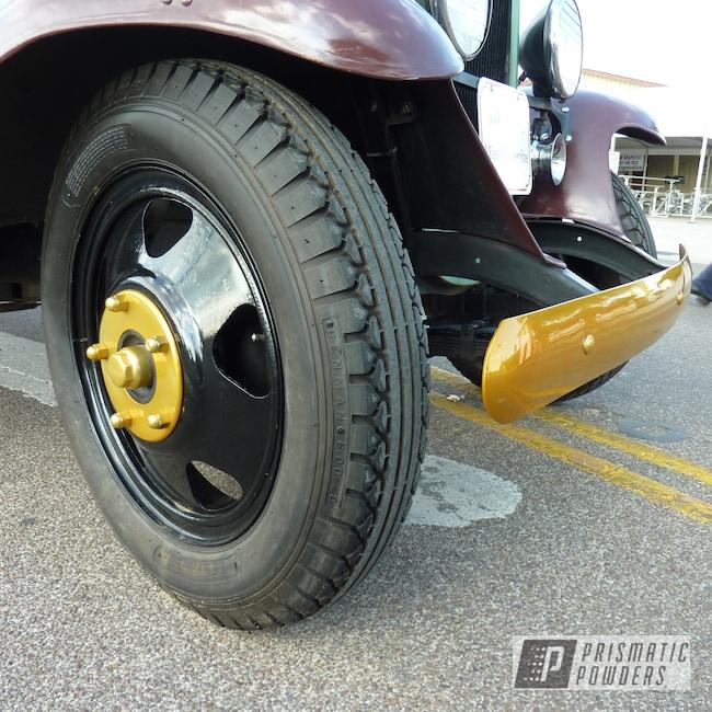 Powder Coating: Automotive,Transparent Brass PPS-5159,Grape Crusher,Bumper
