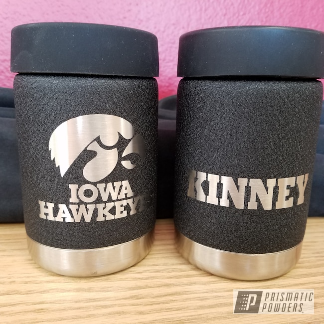 Powder Coating: Splatter Black PWS-4344,Rambler,Personalized,Textured Finish,Custom Cup,Textured Powder Coating,Textured