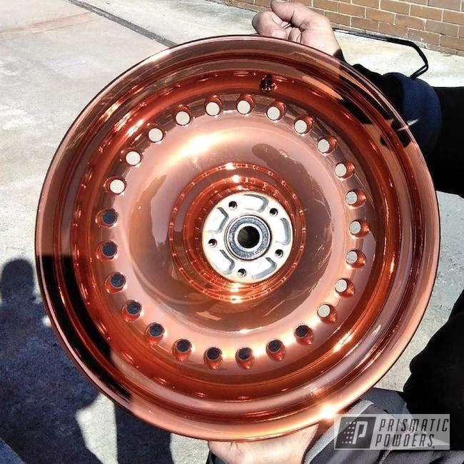 Powder Coating: Wheels,Harley Davidson,Rims,Motorcycles,Trans Copper II PPS-2618