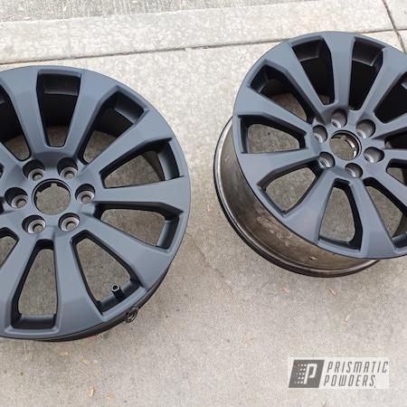 Powder Coating: Wheels,Custom,Automotive,Alloy Wheels,BLACK JACK USS-1522,Rims
