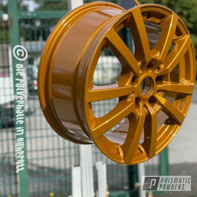 Powder Coated Wheels In Pps-2974 And Pmb-6921