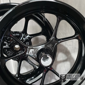Powder Coated Motorcycle Wheels In Pss-0106