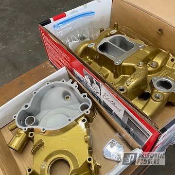 Powder Coated Intake Manifold In Ems-0940