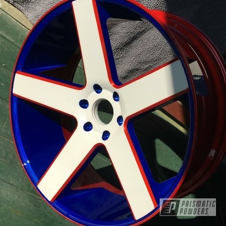 Powder Coating: Wheels,Automotive,Clear Vision PPS-2974,2 Tone,Rims,Accessories,Illusion Blueberry PMB-6908,Illusion Red PMS-4515,Pearlized White HMB-4232,2 Tone Wheels,Aluminum Wheels