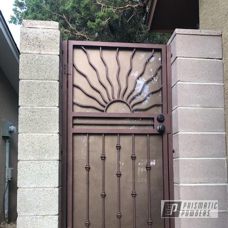 Powder Coating: Splatter Rockwell Bronze PWB-2883,Outdoor Furniture,Desert Aged Copper PWB-2768,Outdoor Decor,door,Household