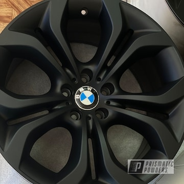 Powder Coated Bmw Wheel In Pss-0106 And Pps-4005