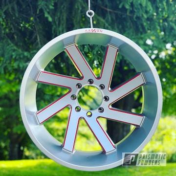 Powder Coated Custom Wheels In Pmb-1544 And Pss-4971