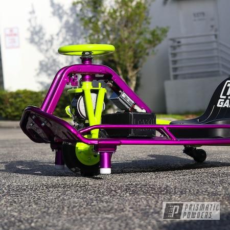 Powder Coating: Drift Cart,Clear Vision PPS-2974,Taxi Garage Crazy Cart,Taxi Garage,Drift Kart,Fractured Violet PVB-10297,Crazy Cart,Illusions,Drift,Cart,Go Cart