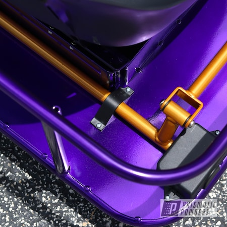 Powder Coating: Drift Cart,Taxi Garage Crazy Cart,Taxi Garage,Candy Gold PPB-2331,Crazy Cart,Cart,Go Cart,Candy Purple PPS-4442