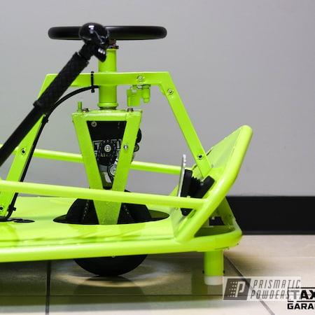 Powder Coating: Power Bait PMB-7084,Drift Cart,Flat Trans Black PPB-6470,Taxi Garage Crazy Cart,Taxi Garage,Crazy Cart,Cart,Go Cart