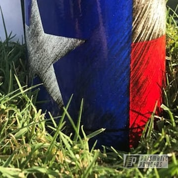 Multi-layered Powder Coating On This Koozie Can Holder