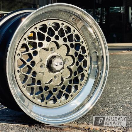 Powder Coating: Wheels,Dazzling Pewter PTB-2310,3 Piece Rims,Rims,Aluminum Rims,Volkswagen,BBS,Jet Black PSS-10392,Fog Clear PPB-4761