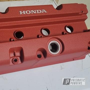 Powder Coated Honda Valve Cover In Pws-2762