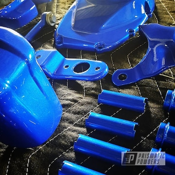 Powder Coated Harley Davidson Parts In Pps-2974 And Pmb-6909