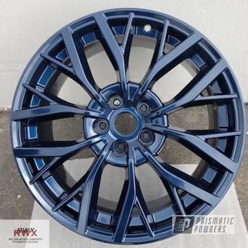 Powder Coated Wheels In Pmb-4239