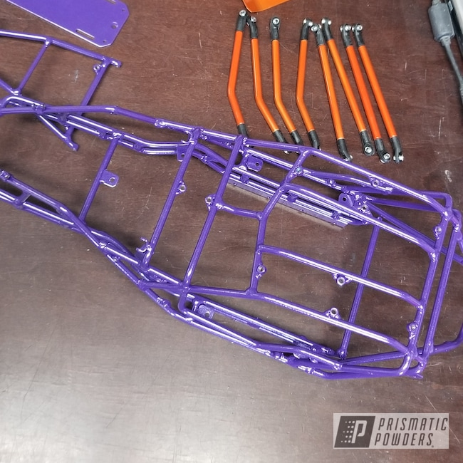 Powder Coating: Lollypop Tangelo PPS-2291,RC Frame & Parts,Alex the Grape PMB-3082,ROMAN GOLD UMB-1638