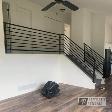 Powder Coated Stair Railing In Uss-1522