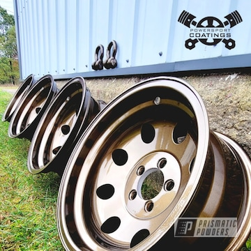 Powder Coated Wheels In Pps-2974 And Pmb-4124