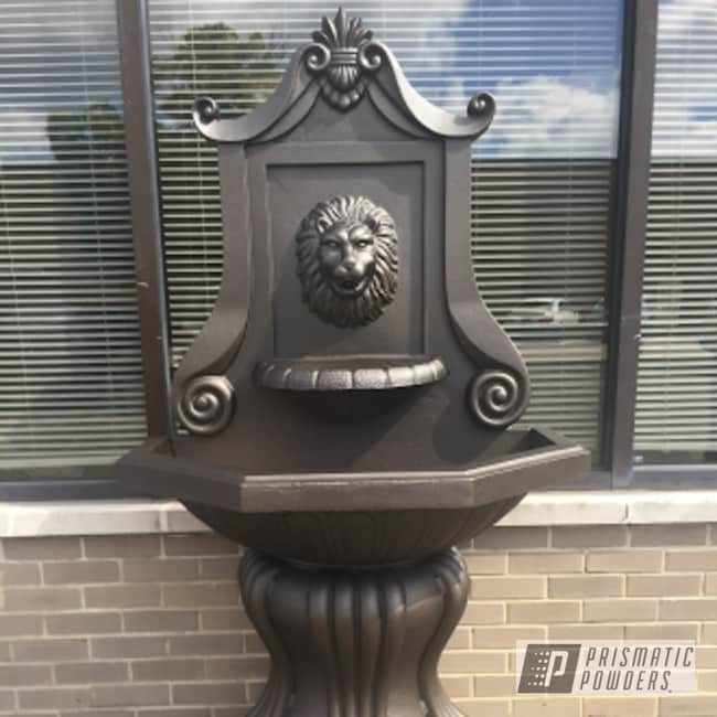 Water Fountain Coated In Oil Rubbed Bronze