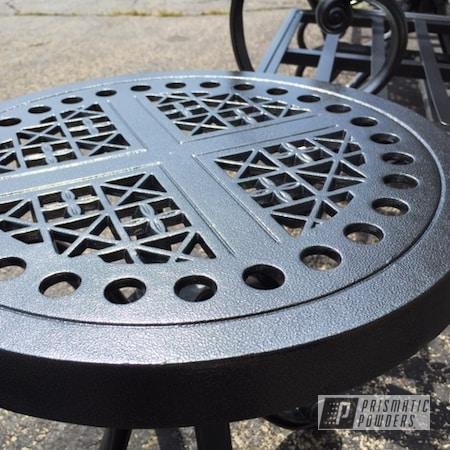Powder Coating: Patio Furniture,Ironstone Silver Satin PLB-3144