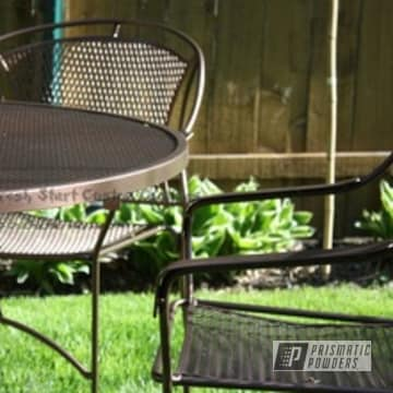 Refinished Patio Furniture in US Penny Vein