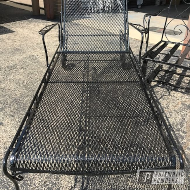 Powder Coating: Patio Furniture,Rockstar Sparkle PPB 5835, USS 2603