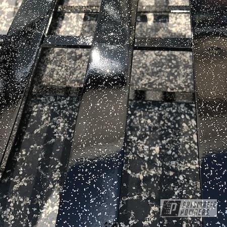 Powder Coating: Patio Furniture,GLOSS BLACK USS-2603,Rockstar Sparkle PPB-5835