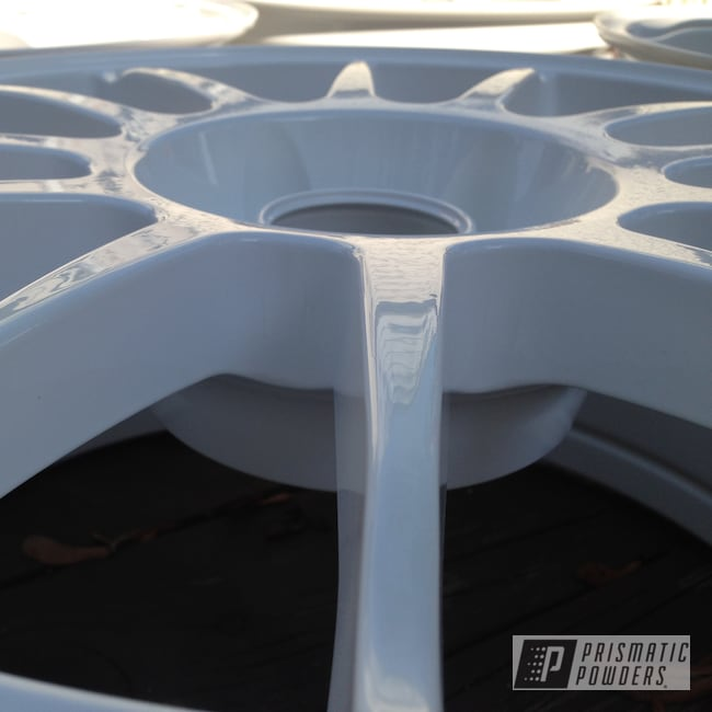 Powder Coating: Wheels,Gloss White PSS-5690