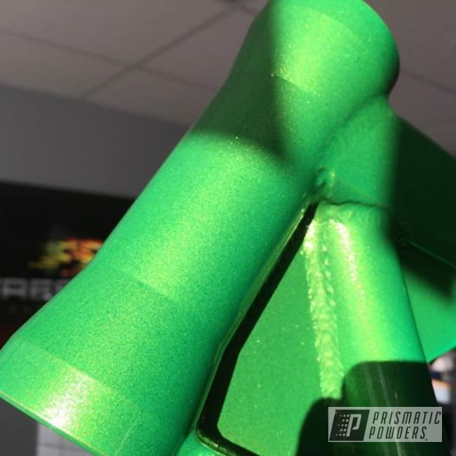Powder Coating: Illusion Lime Time PMB-6918,Clear Vision PPS-2974,Two Stage Application