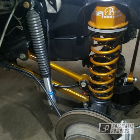 Powder Coating: Illusion Caramel(Discontinued) PMB-6922,Automotive,Clear Vision PPS-2974,Lift Kit