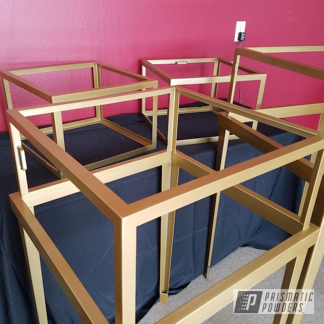 Powder Coating: Gold Bar Gold HMB-2225,Furniture