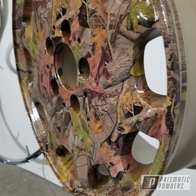 Powder Coating: Clear Vision PPS-2974,Rims,Magnum Beige PSB-4953,Hydrographics over Powder