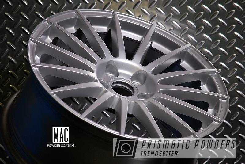 Porsche Silver on a set of Audi Rims