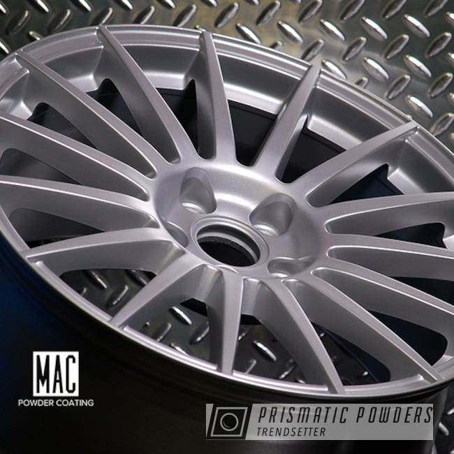 Porsche Silver On A Set Of Audi Rims