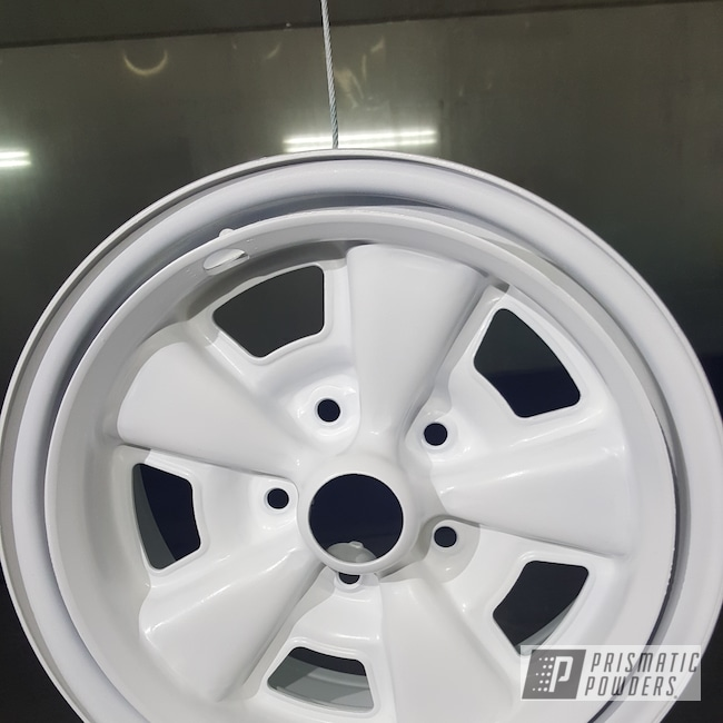 Powder Coating: Rims,Casper Clear PPS-4005,Gloss White PSS-5690
