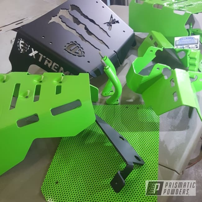 Powder Coating: ATV Parts,Kiwi Green PSS-5666