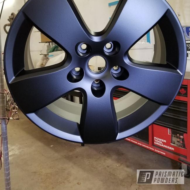 Powder Coating: Custom Rims,Flatter Black ESS-4441