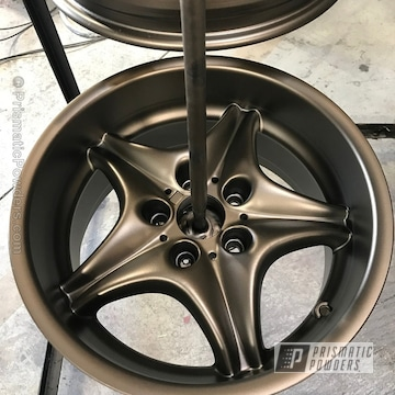 Flat Bronze With Casper Clear Top Coat